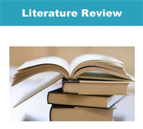 Primary and secondary literature review
